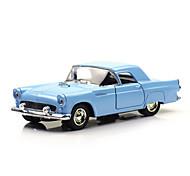 Classic Car Race Car Toys Car Toys 1:28 Metal Plastic Blue Model & Building Toy