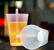 Novelty Drinkware, 350 ml Portable Plastic Juice Tea Cup