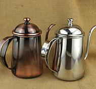 650 ml  Stainless Steel Coffee Kettle , 5 cups Brew Coffee Maker Reusable