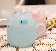Cartoon Drinkware, 300 ml Decoration Plastic Juice Tea Cup