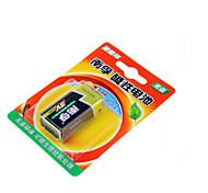 Nanfu pile alcaline 9V / jouets télécommandés / détecteur de fumée sans fil / microphone / multimètre / télécommande / batterie microphone