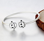 Bracelet Bangles Sterling Silver Animal Natural Gift Jewelry Gift Silver1pc