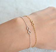 Bracelet Chain Bracelet Alloy Infinity Movie Jewelry Handmade Bohemia Wedding Party Birthday Engagement Valentine Christmas Gifts Jewelry