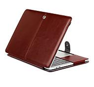 для MacBook 11,6 13,3 сетчатке Таблетка роскошный сверхтонкий магнитный фолио стоять сумасшедший кожаный чехол крышка лошадь рисунок
