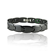 Bracelet Chain Bracelet Alloy Others Magnetic Therapy Gift Sports Valentine Christmas Gifts Jewelry Gift Black,1pc