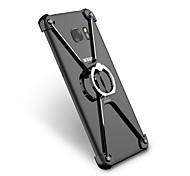 Для Защита от удара Кольца-держатели Кейс для Бампер Кейс для Один цвет Твердый Алюминий для Samsung S7 edge S6 edge plus S6 edge