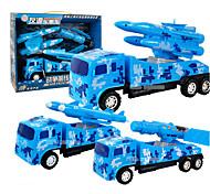 Vehículo militar Juguetes para vehículos 1:24 Plástico Metal Azul