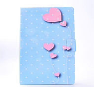 For iPhone iPad Pro 9.7'' iPad 2 / 3 / 4 PU Leather Material Love Balloon Pattern Painted Flat Protective Cover iPad Air 2 Air