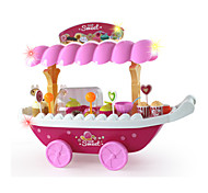 Tue so als ob du spielst Model & Building Toy Spielzeuge Neuartige Quadratisch Plastik Rosa