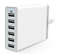 Anker® 60W 6-Port Family-Sized Desktop USB Charger US Plug with PowerIQ Technology for iPhone iPad Samsung Nexus HTC M9
