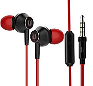 HM8 uiisii ​​in auricolari Super Bass con microfono da 3,5 mm per iPhone dispositivo Android grandi auricolari audio