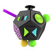 Игрушки гладкая скорость куб новинка стресс relievers магия куб черный оранжевый пластик