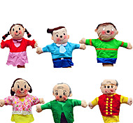 A Family  Dolls Professional DollsBig Hands Dolls Finger  Love Dolls Finger Puppet Model & Building Toy Toys Novelty Textile Cotton