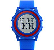 Men's Women's Sport Watch Wrist watch Digital Watch LED LCD Calendar Water Resistant / Water Proof Alarm Stopwatch Digital Rubber Band
