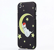 For Apple iPhone 7 Plus iPhone 7 iPhone 6s Plus iPhone 6 Plus iPhone 6s iPhone 6 Case Cover The Moon PC Back Shell TPU Frame