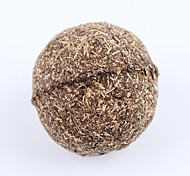 Cat Toy Pet Toys Ball Catnip Durable Bamboo