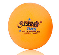 1 Piece 2 Stars 6 Ping Pang/Table Tennis Ball Orange Indoor Performance Practise Leisure Sports