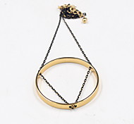 Women's Pendant Necklaces Jewelry Alloy Jewelry Fashion Personalized Euramerican Simple Style Gold JewelryParty Special Occasion