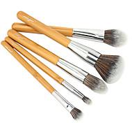 vela.yue Premium Makeup Brushes Collection 5pcs Face Eyes Brushes Set eco-friendly bamboo Beauty Tools