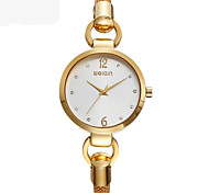 Montre Tendance Quartz Alliage Bande Doré Or Rose Or Or Rose
