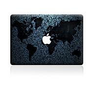 1 ед. Защита от царапин карта Прозрачный пластик Стикер для корпуса Узор ДляMacBook Pro 15'' with Retina MacBook Pro 15 '' MacBook Pro