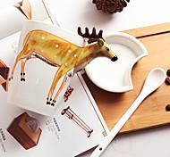 Стаканы, 400 Керамика Молоко Вода Кофейные чашки