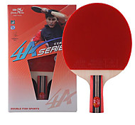4 Stars Table Tennis Rackets Rubber Short Handle Pimples Indoor Leisure Sports