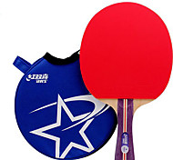 1 Star Table Tennis Rackets Rubber Short Handle Pimples Indoor Leisure Sports