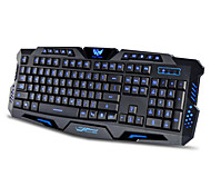 3 Color Backlit Gaming Switchable Computer Laptop USB Wired Backlight Led Gamer Keyboard