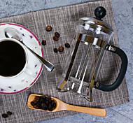 350 aço inoxidável imprensa francesa de plástico, 3 xícaras de chá perfumado reutilizáveis fabricante