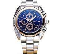 Dress Watch Fashion Watch Wrist watch Quartz Alloy Band Cool Casual Silver White Black