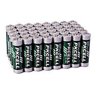 pkcell R6P aa zinc de carbone de la batterie sèche 1.5v 60 pack service Super heavey