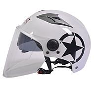 GXT m11 мотоцикл половина шлем двойной линзы Харли солнцезащитный шлем летом унисекс подходит для 55-61cm с длинной прозрачной линзой