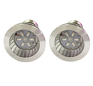 3W E14 GU10 E27 LED Grow Lights 6 SMD 5730 96-112 lm Red Blue AC85-265 V 2 pcs