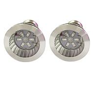 3W E14 GU10 E27 Lampes Horticoles LED 6 SMD 5730 96-112 lm Rouge Bleu V 2 pièces