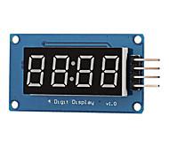 0.36 LED 4-Digit Display Module - Black  Blue