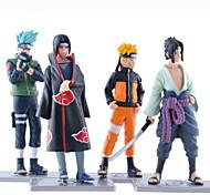 Anime Action Figures Inspired by Naruto Naruto Uzumaki PVC 19 CM Model Toys Doll Toy 1set