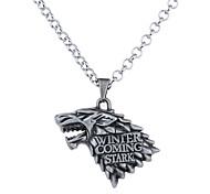 Ожерелье Без камня Ожерелья с подвесками Бижутерия Halloween В форме животных Уникальный дизайн С логотипом В виде подвески Сплав 1шт