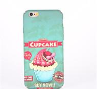 Для Рельефный С узором Кейс для Задняя крышка Кейс для Продукты питания Твердый PC для AppleiPhone 7 Plus iPhone 7 iPhone 6s Plus iPhone