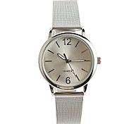 Women's Fashion Watch Quartz / Stainless Steel Band Casual Silver