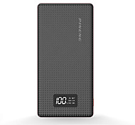 PINNENG® 10000mAh power bank 1A 2.1A external battery Multi-Output with Cable