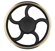 Tri-Spinner Copper Ring Fidget Toy Plastic EDC Fidgets Hand Spinner for Kids Autism and ADHD Increase Focus