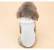 Dog Dress Dog Clothes Spring/Fall Princess Cute Casual/Daily Blushing Pink Light Blue Light Green