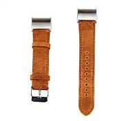 Para a carga fitbit banda de substituição de luxo 2 couro genuíno relógio pulseira pulseira de moda