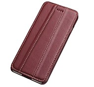 For Apple iPhone 7 Plus 7 Case Cover Flip Full Body Solid Color Hard Genuine Leather