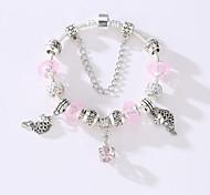 Han Edition Bracelet Diy Jewelry Accessories America And Europe Pop Beaded Crystal Bracelet Jewelry