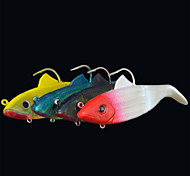 2 pçs Isco Suave / Amostras moles Cores Aleatórias 53.5 g Onça mm polegada,Plástico Pesca Geral