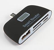 Micro usb Reader USB SD HC Micro SD HC