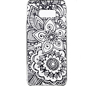 For Samsung Galaxy S8 Plus S8 Case Cover Mandala Pattern High Penetration TPU Material Phone Case S7 edge S7 S6 edge plus S6 edge S6 S4 Mini S4