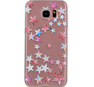 For Samsung Galaxy S8 S7 Edge Five-Pointed Star Pattern Soft TPU Material Phone Case for S7 S6 Edge S6 S5 S5 Mini